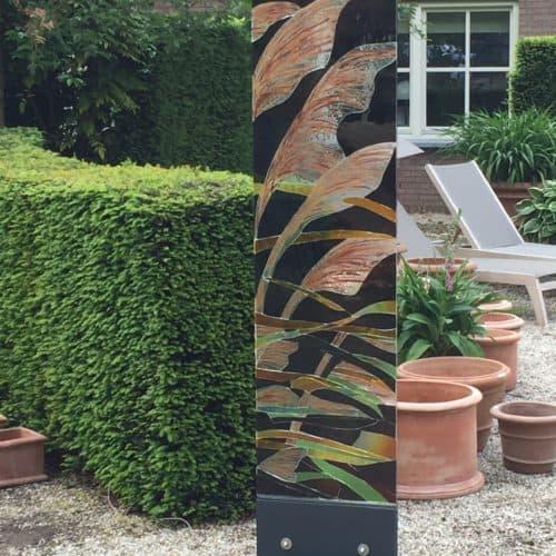 Lux-Nova in de tuin